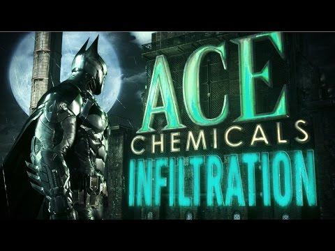 Official Batman: Arkham Knight - Ace Chemicals Infiltration Trailer: Part 1