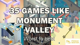 35 Games like Monument Valley