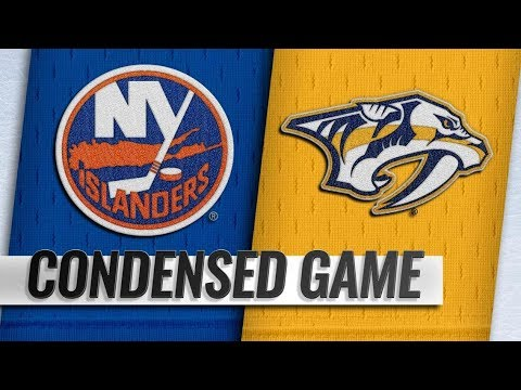 New York Islanders vs Nashville Predators – Oct.13, 2018 | Game Highlights | NHL 18/19 | Обзор матча