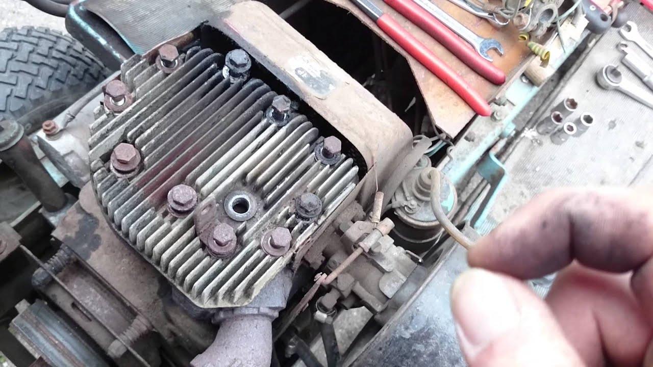 Lawn tractor head gasket repair update youtube - New Head Gasket In The Ariens S 16 H
