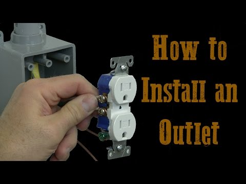 How To Install Electrical Outlets