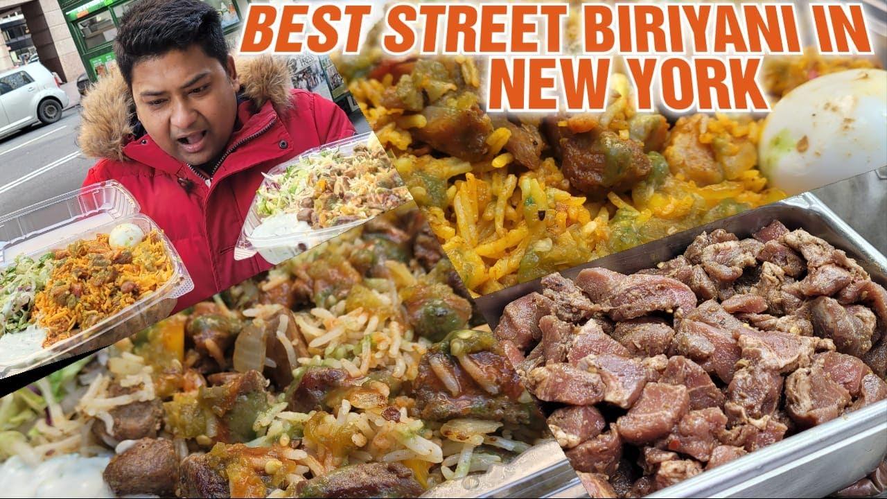 Best Street Biryani in New York | EmonEats | Food Review