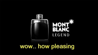 Montblanc Legend (2011) - Review - Crisp and fresh pineapple, maybe some fir?