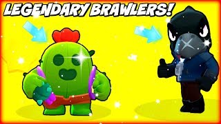 WE GOT SPIKE u0026 CROW IN THE SAME VIDEO!!! :: INSANE BRAWL STARS LEGENDARY BOX OPENINGS!