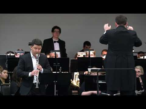 Alex Fiterstein plays: Concerto for Clarinet and Wind Ensemble by David Maslanka