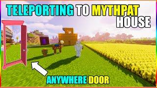Entering Mythpat mincraft house | mincraft hindi gameplay