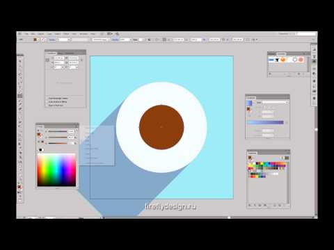 """Урок 3. Часть 2. Курс """"Компьютерная графика в Illustrator""""."""