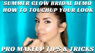 BEST BEAUTY PRODUCTS FOR BRIDAL TOUCHUPS AFTER A LONG DAY VIDEO TUTORIAL - mathias4makeup