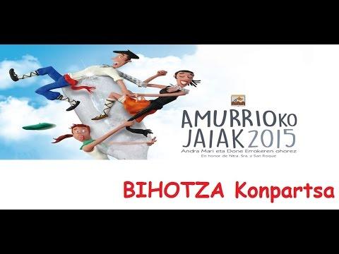BIHOTZA Konpartsa - 2015/08/12-17 - Amurrioko Jaiak 2015 - Amurrio