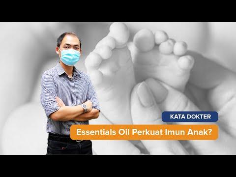 Apakah Essentials Oil Cukup Mampu Untuk Membantu Memperkuat Imunitas Anak?