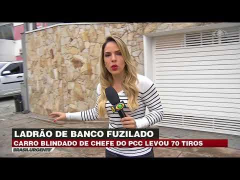 São Paulo: Membro do PCC é fuzilado no meio da rua