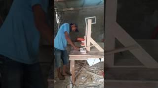 Cara bikin lubang engsel sendok sendiri