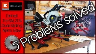 Einhell TH-SM 2131 [5 Problem Solved]