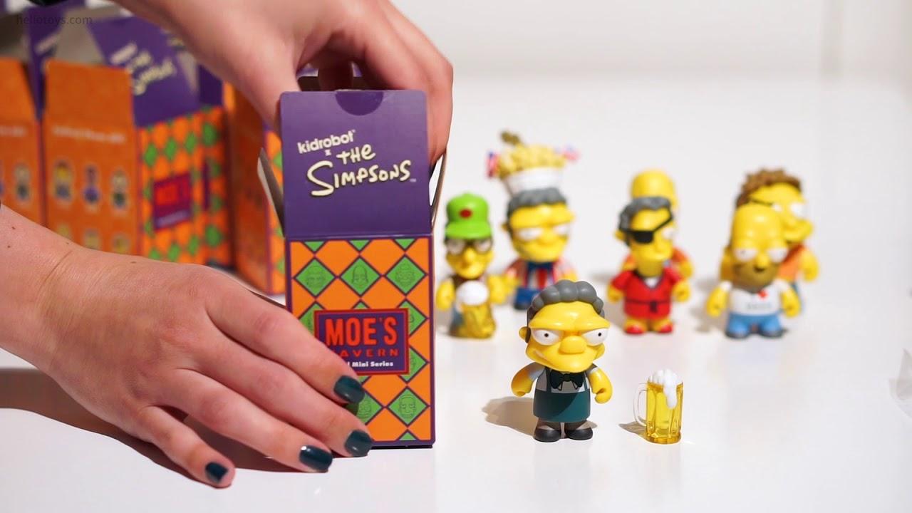 Kidrobot Mini Figure Series The Simpsons: 25th Anniversary Blind Box