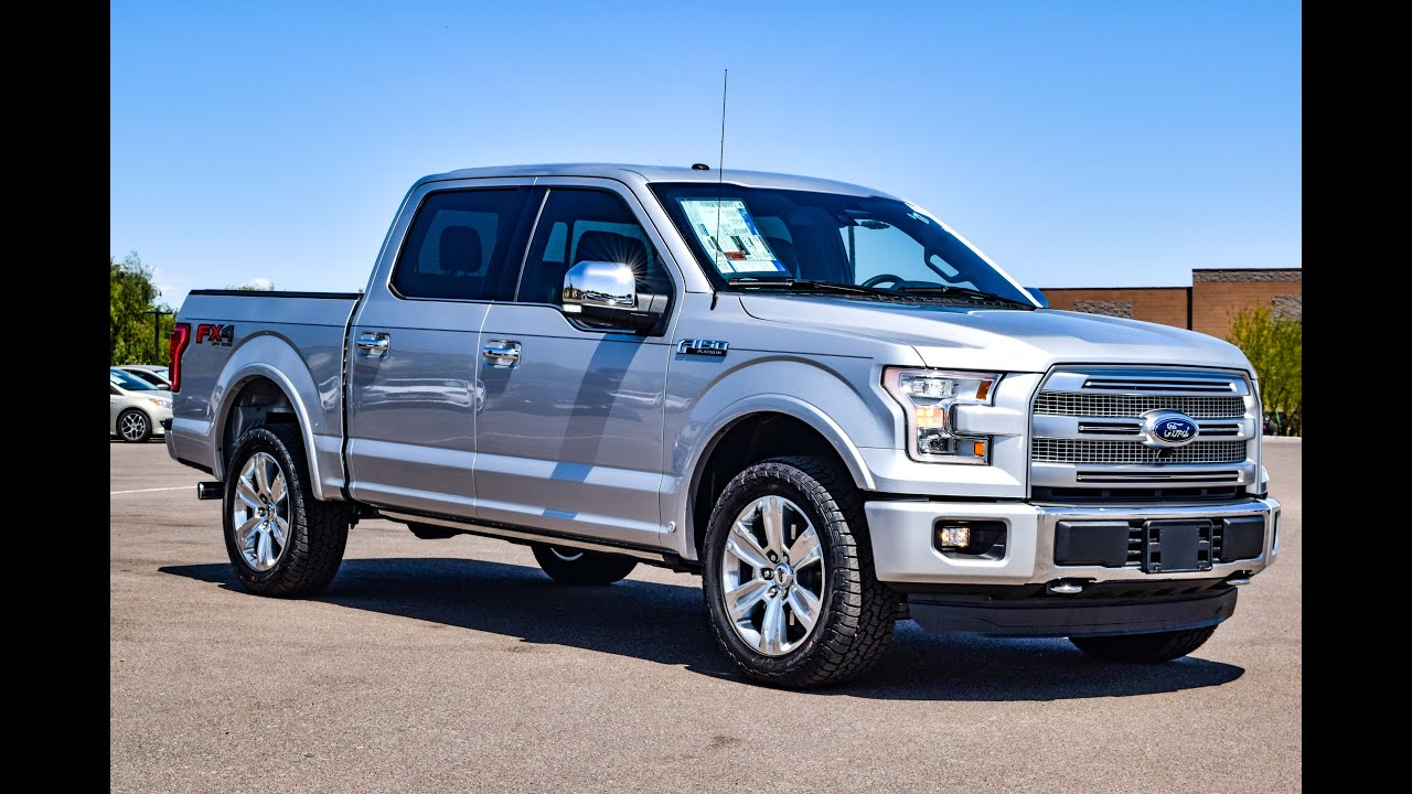 2016 Ford F 150 Platinum Walkaround