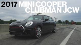 Mini Clubman JCW Hot Lap at VIR   Lightning Lap 2017   Car and Driver