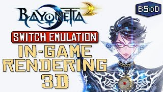 Bayonetta 2 Goes In Game on Nintendo Switch Emulator | Unbelievable Progress Video