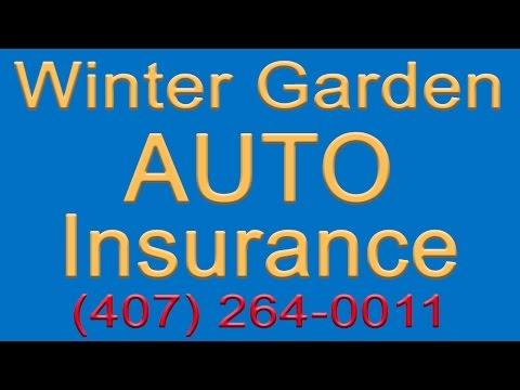 Winter Garden Auto Insurance Quotes | 407-264-0011 | Auto Insurance Winter Garden