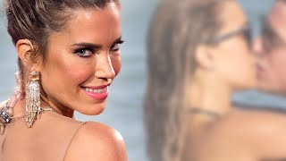 Sylvie Meis - Verrückte Liebesshow! Hier zeigt sie sich mit ihrem Bart am Strand