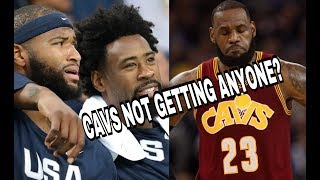 Are The Cavs in Danger of losing on Demarcus Cousins or Deandre Jordan?