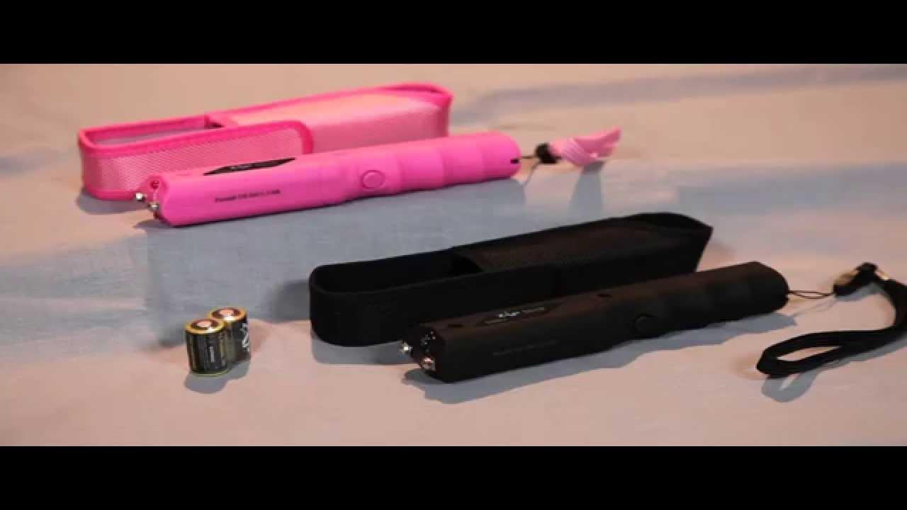 ZAP Stick - 800,000 Volt Stun Gun with Flashlight - Updated