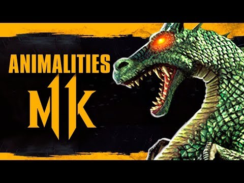 Animalities no Mortal Kombat 11 ? Michonne fora de The Walking Dead thumbnail