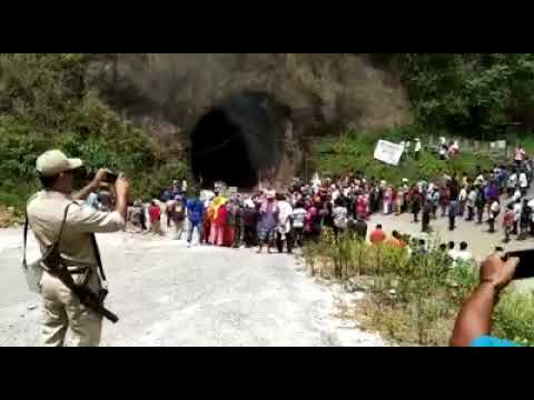 Re-posting of Armstrong Pame as Tamenglong DC opposed; rally held, railway works halted