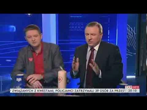 Jacek Kurski i Andrzej Rozenek o WOŚP i alkomatach (Dziś wieczorem TVP Info, 13.01.2014)