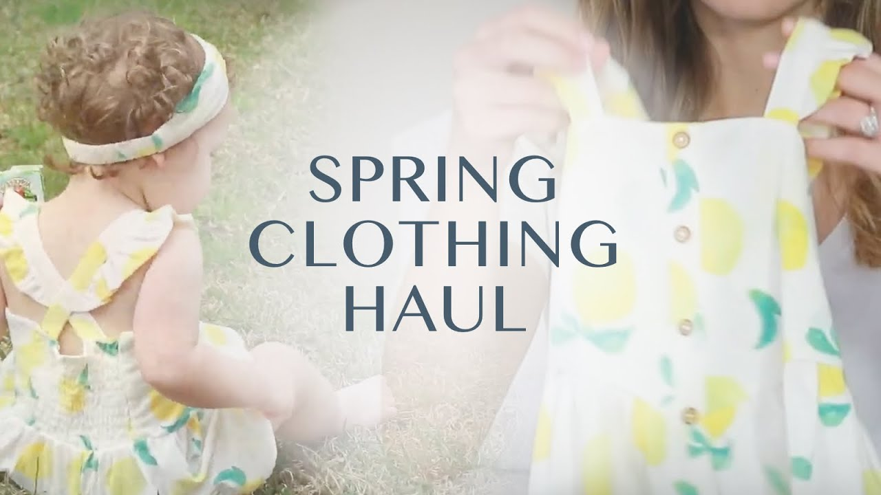 Toddler Spring Clothing Haul 2019 5