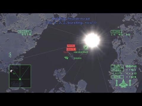 Ace Combat 5 - Mission 13: Demons Of Razgriz (Ace - S Rank)
