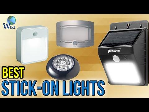 10 Best Stick-on Lights 2017