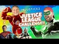 Justice League Challenge!!! INJUSTICE 2 SuperHeroes Battle by KIDCITY