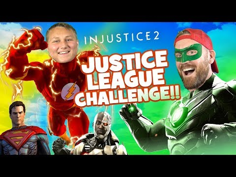Thumbnail: Justice League Challenge!!! INJUSTICE 2 SuperHeroes Battle by KIDCITY