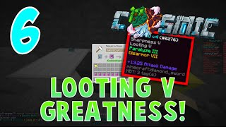 """LOOTING V GREATNESS!"" - CosmicPVP Ice Planet Factions (Season 3 EP 6)"