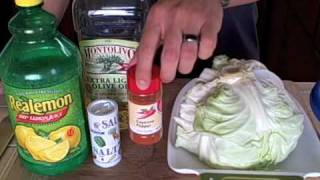 Tip #35: Delicious Metabolism Boosting Raw Cabbage Salad