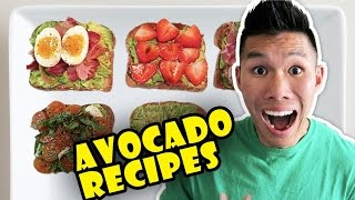 BUZZFEED FOOD'S AVOCADO RECIPES Taste Tested ...