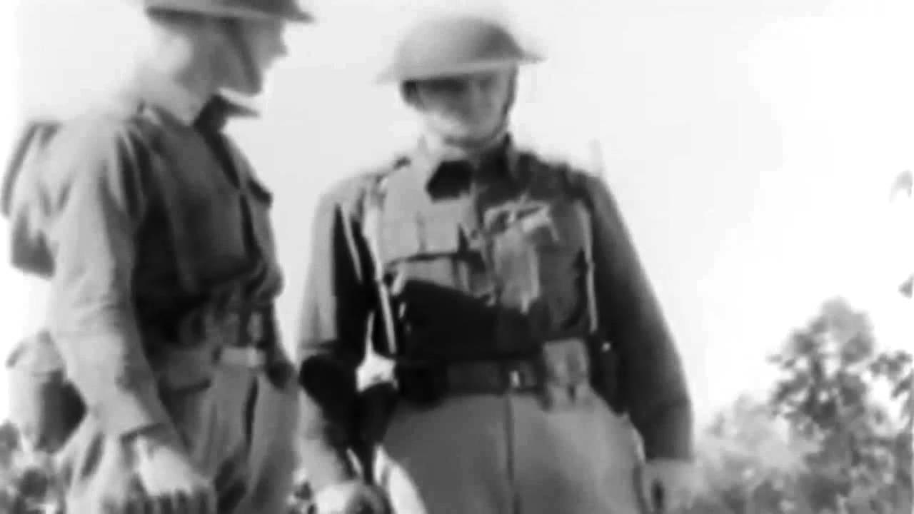 U.S. Army Training Film 'The Employment Of Machine Guns In The Defense' 1937