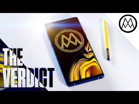 Samsung Note 9 REVIEW - I'm switching phones.