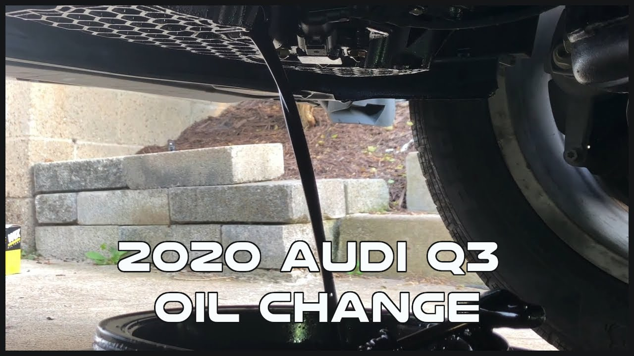 How To Change Oil Guide! 2020 Audi Q3!