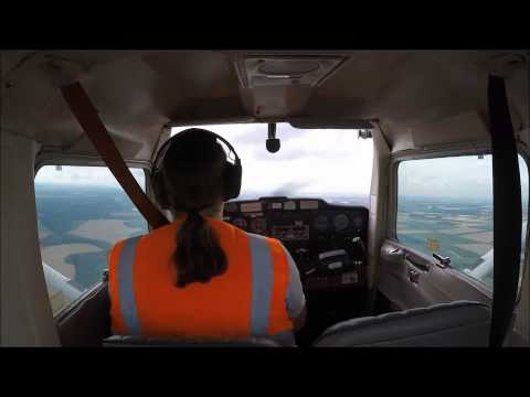 Solo Circuits in Cessna 152 G-BNPY at Gamston EGNE