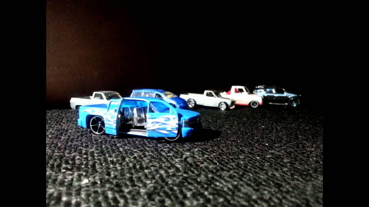 Custom 2014 Chevy Silverado Hot Wheels - YouTube
