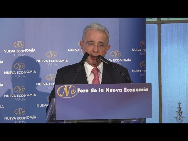 Foro de la Nueva Economía con Álvaro Uribe