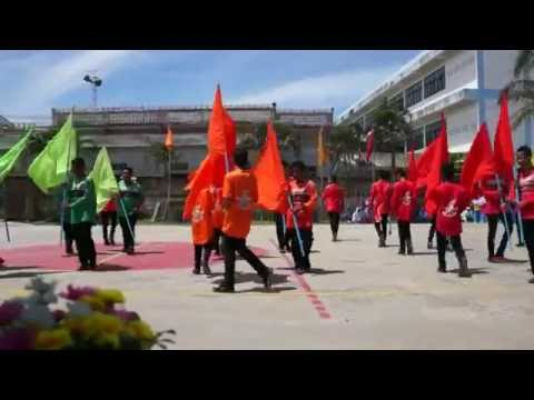 พิธีเปิดกีฬาสีโรงเรียนศาสน์สามัคคีปี59 Sassamakki Games 2016