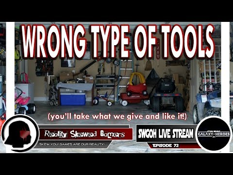 SWGOH Live Stream Episode 72: Wrong Type of Tools | Star Wars: Galaxy of Heroes #swgoh