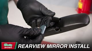How To: Replace Your Vehicle's Rearview Mirror