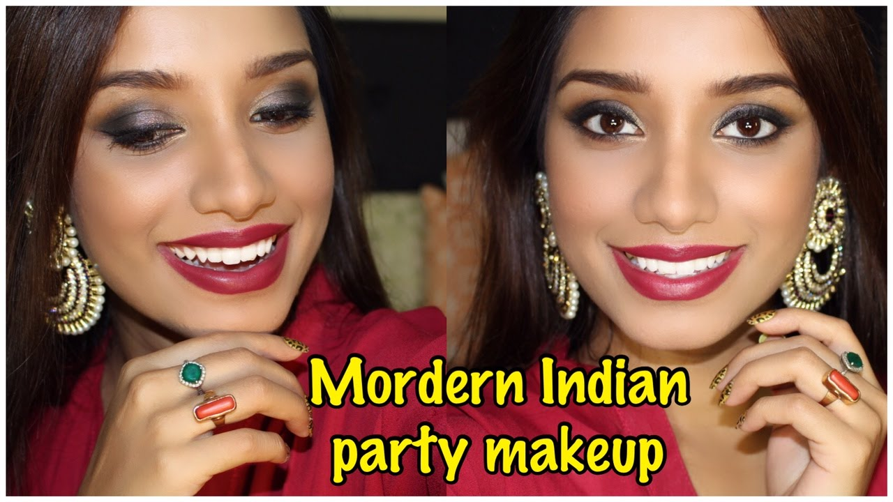 Indian/ Pakistani Wedding Reception Party Makeup Tutorial + Winner Announcement. - YouTube