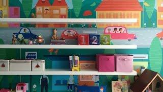 Nova Brinquedoteca: organização dos brinquedos e decoração do quarto Thumbnail