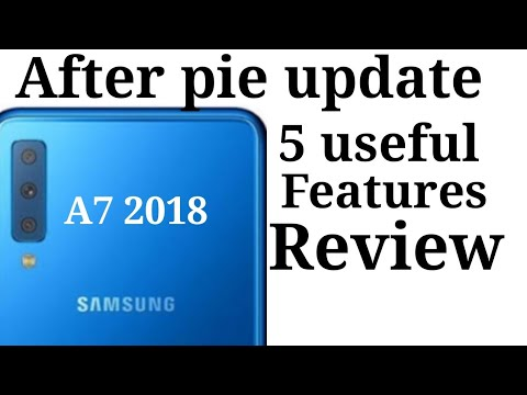Samsung Galaxy A7 2018 Android 9 0 Pie vs Android 8 0 Oreo Problems