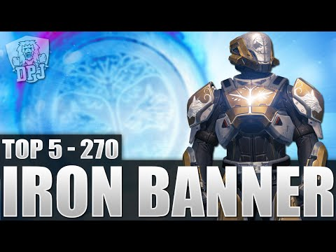 Destiny: Amazing Top 5 Iron Banner Plays Of The Week / Episode 270