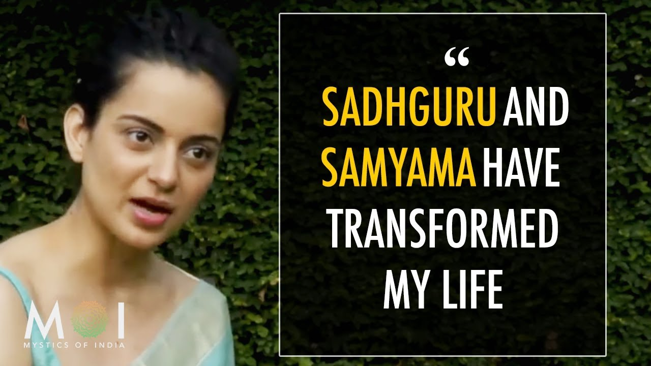 Kangana Ranaut Shares Her Life Changing Experience After Doing Samyama With Sadhguru | MOI